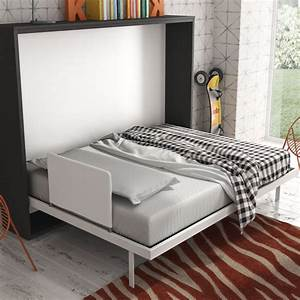 Armoire Lit escamotable Horizontale B Secret de Chambre