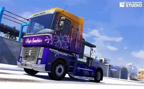 renault christmas snow ets2planet com part 2