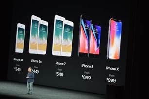 iphone ten apple 2017 the iphone x ten announced