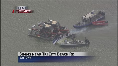 Boat Show Near Houston by Missing Fisherman Found Inside Capsized Boat Near Baytown