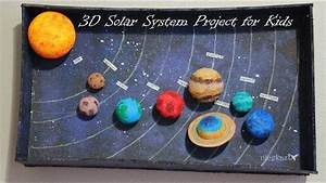 How to make 3D Solar System Project for Kids - YouTube