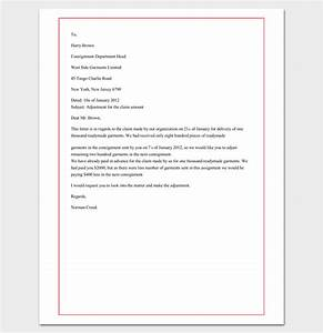 Write an effective claim letter 10 formats samples for Cover letter for claims adjuster position