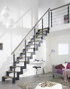 Rampe Escalier Lapeyre : comment bien choisir son escalier ~ Carolinahurricanesstore.com Idées de Décoration