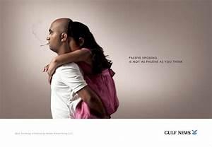 "Gulf News: ""Gulf News: Passive Smoking"" Print Ad by Noble ..."