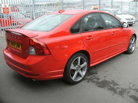 electric and cars manual 2009 volvo s40 regenerative braking used volvo s40 2009 petrol t5 se sport 4dr saloon red with front electric windows for sale