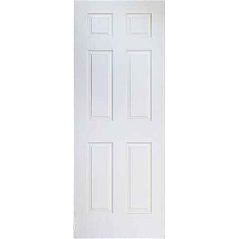 porte de chambre rona 6 panel hollow interior door rona