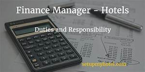 Housekeeping Manager Job Description Hotel Accounts Manager Finance Manager Duties And