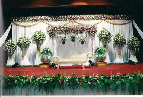 bangalore stage decoration design  wedding flower