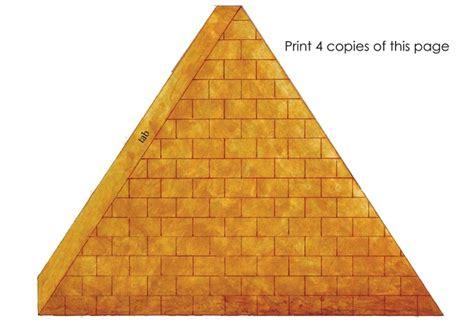 images  egyptian pyramid cut  template leseriailcom