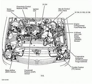 4a72f Mazda B4000 4 0 Engine Diagram