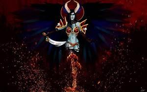 Queen of Pain Dota 2 0b Wallpaper HD
