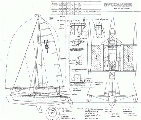 Trimaran Plans by Small Trimarans Messing About In Boats