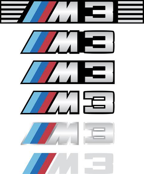m2 emblem vector or clipart file
