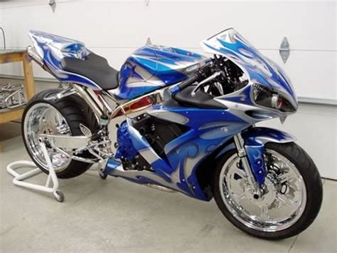 Custom R1, Custom Hayabusa, Motorcycle Paint, Custom