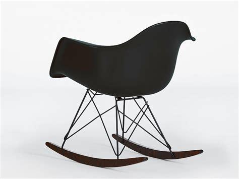 Vitra Eames Rar Plastic Rocking Armchair By Charles & Ray