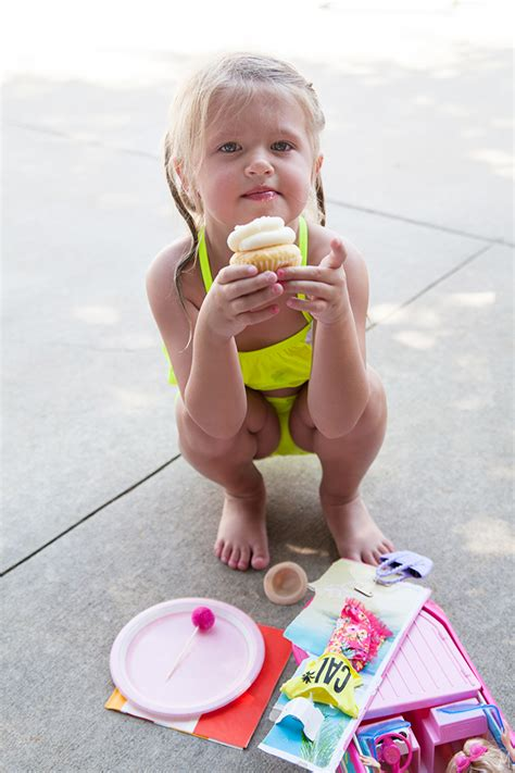 millys popsicle pool party  makerista