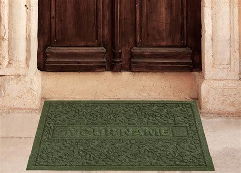 personalized waterhog door mats  personalized door mats