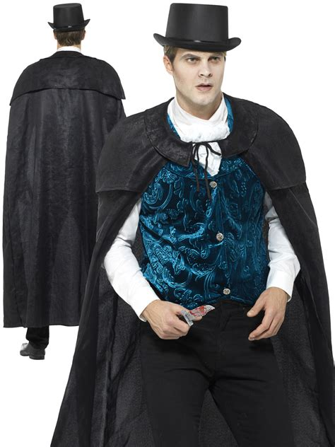 mens deluxe victorian jack  ripper costume  mens