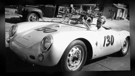 spyder porsche james dean james dean and his silver porsche 550 spyder youtube