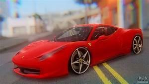 Ferrari 458 Italia Lights Ferrari 458 Italia For Gta San Andreas