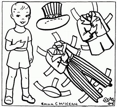 Coloring Uncle Sam Paper Dolls Poppy Popular