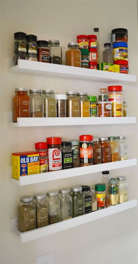 Wall Mount Spice Rack Ikea by Ikea Ledges Make The Spice Rack Ikeahack