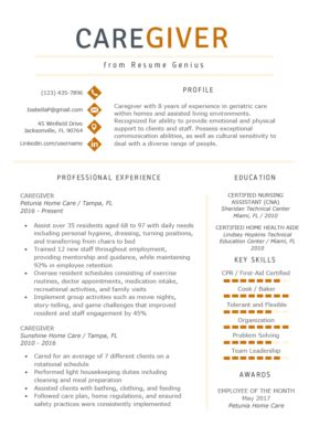 What To Put On A Resume For Babysitting by Nanny Resume Exle Writing Tips Resume Genius