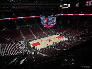 Moda Seating Chart With Seat Numbers Moda Center Section 304 Portland Trail Blazers