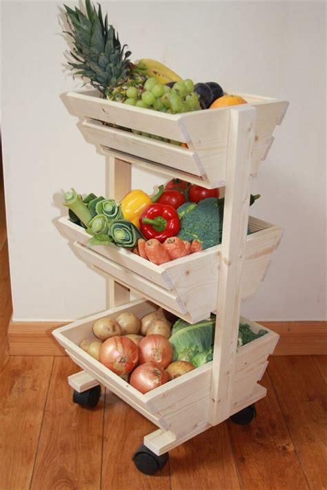pallet vegetable storage rack pallet furniture diy