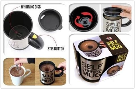 Jual Gelas Ajaib jual self stirring mug aduk ajaib stiring gelas kopi