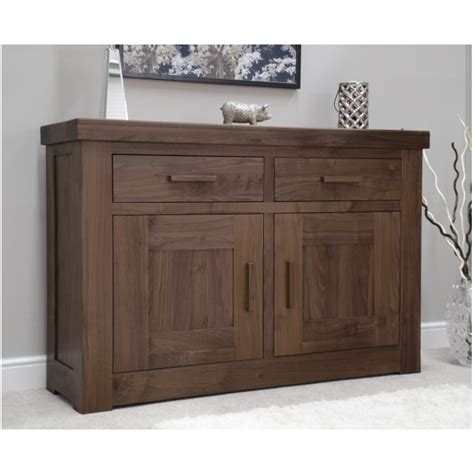 Darkwood Sideboard by Fama Solid Wood Walnut Living Dining Room Furniture