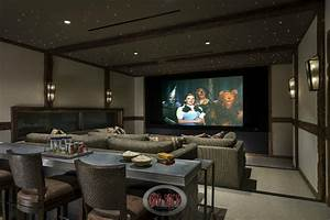 100 awesome home theater and media room ideas for 2018 for Home theater bar furniture