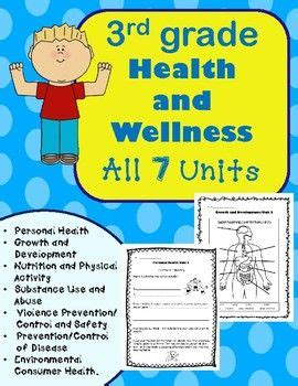 3rd grade health unit for the entire year health