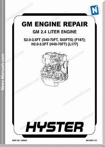 Gm Hyster 2 4l Engine Repair Manual