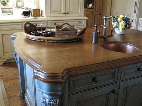 hickory kitchen island design j aaron wood countertops hickory