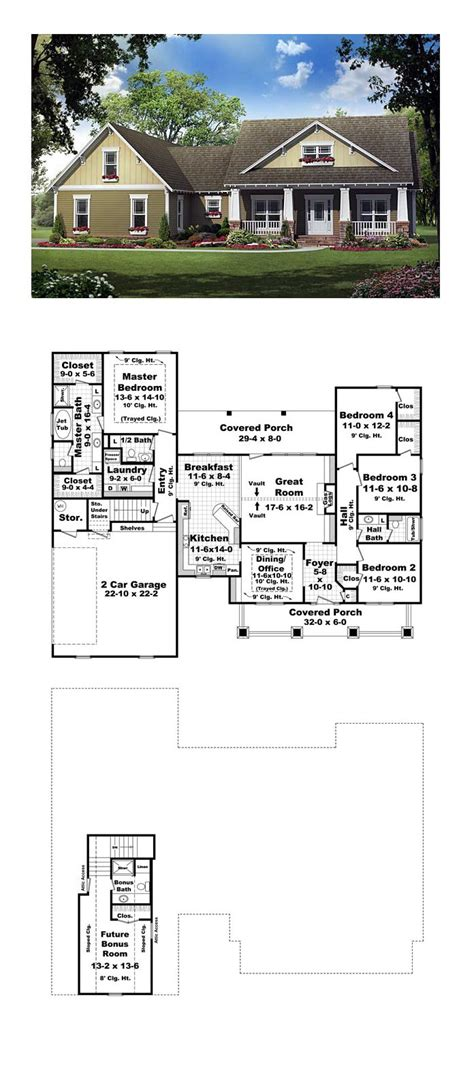 Plans Maison En Photos 2018 Bungalow House Plan 59193