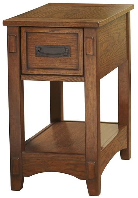 Chair Side Tables With Drawers by Chairside End Program Chair Side Drawer End Table From