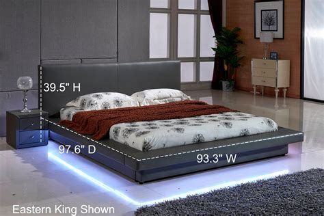 Amazon.com: US Pride Furniture Grey Leather with LED