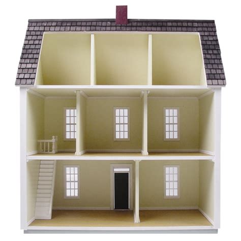 scale colonial dollhouse kit real good toys