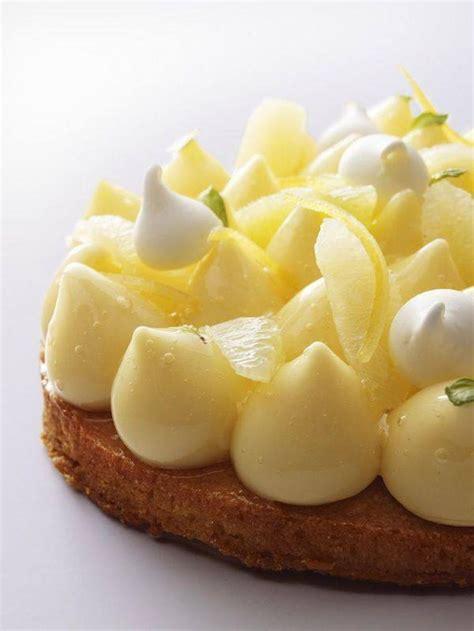 recette de cuisine gastronomique de grand chef la tarte au citron revisitee par des grands chefs