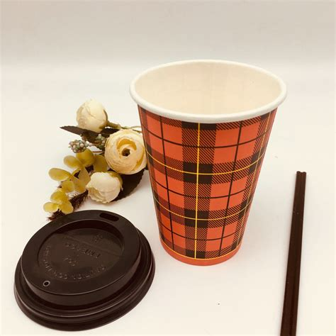 Every use of a reusable glass cup is one sip closer to a more sustainable world. Recycled Custom Logo Printed Disposable Ripple Paper ...