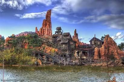 Disneyland Paris Frontierland Thunder Mountain Roller Wallpapers
