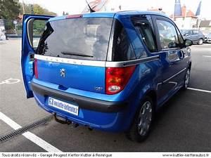 Peugeot 1007 Occasion : peugeot 1007 1 4l hdi 70 cv 2007 occasion auto peugeot 1007 ~ Medecine-chirurgie-esthetiques.com Avis de Voitures