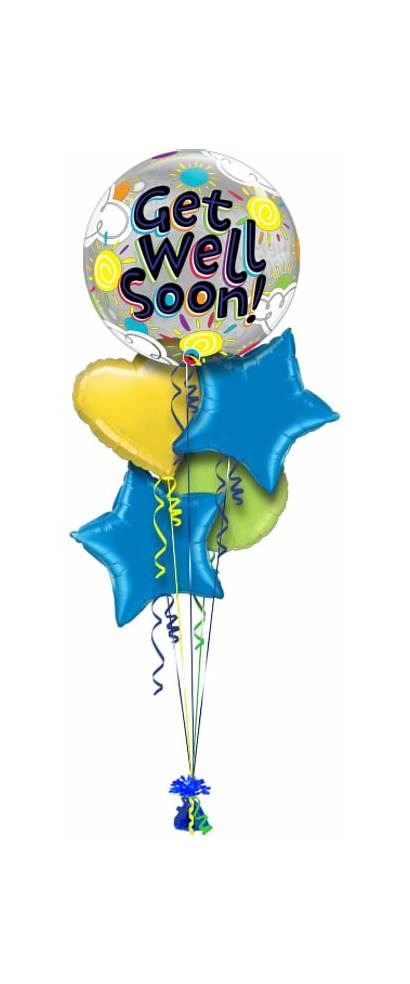 Well Soon Bubble Bright Balloons Delivered Balloon