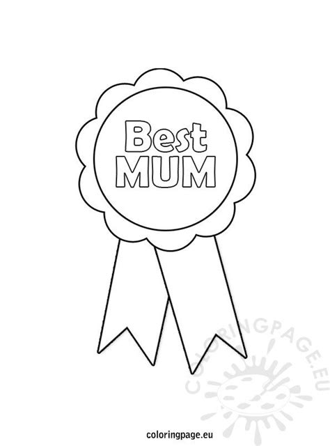 mothers day rosette coloring page coloring page