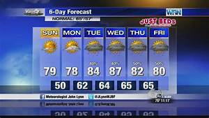 WJBF News Channel 6 at 11 weather forecast - YouTube