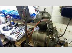 BMW Isetta 300 cc engine bench test YouTube