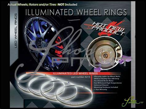 oracle wheel lights oracle lighting bmw led wheels lights halo rims rings