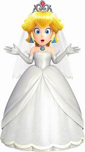 Mario can wear princess peach39s wedding dress in super for Princess peach wedding dress