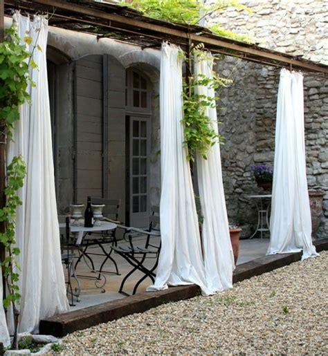 rideaux exterieur pour terrasse les voiles d ombrage pour embellir notre jardin ou balcon
